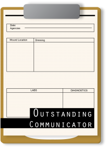 Outstanding communicator